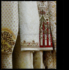 The Emperor's New Clothes (designldg) Tags: india wool fashion closeup design pattern embroidery silk style varanasi kashi tailor brocade benares benaras garment artcraft sherwani uttarpradesh  jamawar jamatisherwanidesigns
