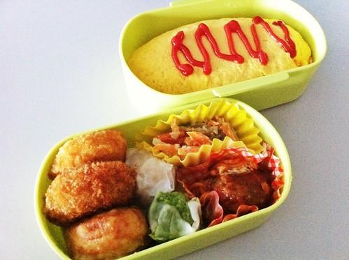 今日のお弁当 No.198 – オムライス