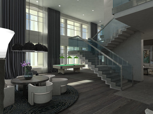 Best Off Interior Design Renderings At The Harrington College Of Chicago Elisian Natalia Zurowska Ritz Carlton