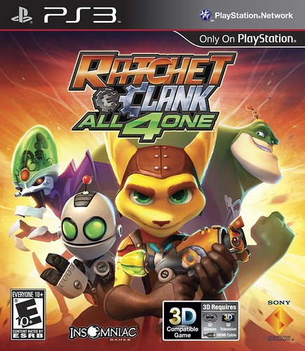 Ratchet & Clank: All 4 One final box art