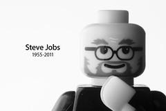 R.I.P. Steve Jobs (Bo-Chi Workshop) Tags: memorial lego jobs rip steve hklug