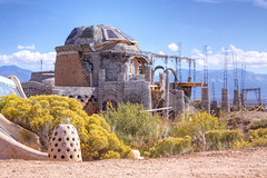Earthship House (Caren Mack Photography) Tags: new mexico solar natural north nm northern earthship biotecture taosearthships thegreaterworldearthshipcommunity passivesolarhouse taosbiotecture
