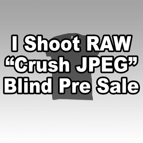 "I SHOOT RAW ""Crush"" Pre Sale"