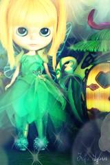 Lola as Tinkerbelle