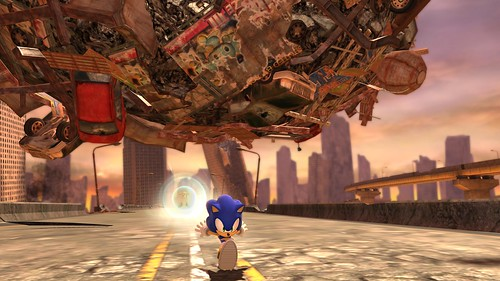 Sonic Generations - Rivals - Silver the Hedgehog