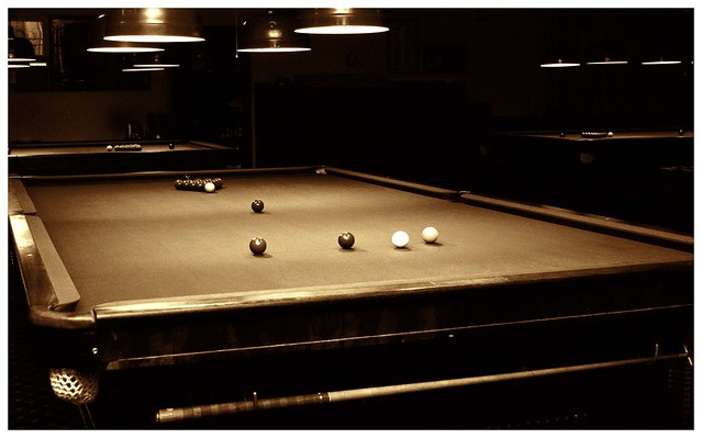 New York Athletic Club Billiard Room