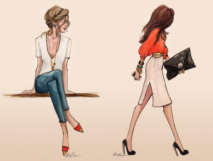 Sense & Sensibility Illustration