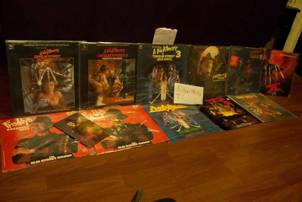 Mi Colección De Freddy Krueger Segunda Parte (Halloween)