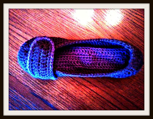 Violet House Slipper by Patty Martyn