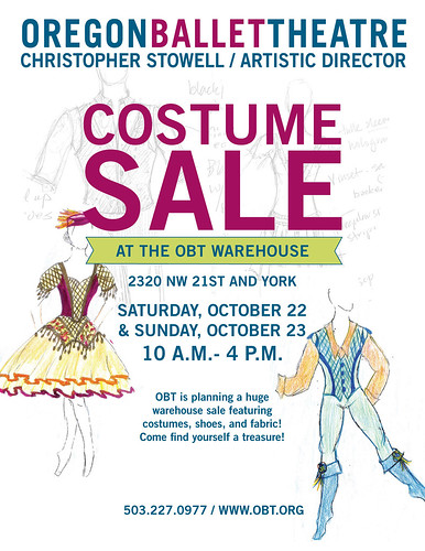 Oregon Ballet Theater Halloween Costume Sale