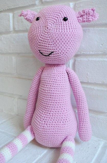 My new crochet creature :)