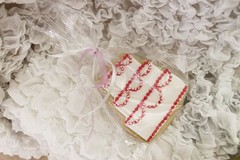 κέρασμα γάμου - μπισκότο νύφη και γαμπρός