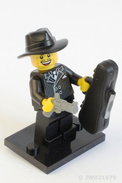 Lego Mobster Minifigure