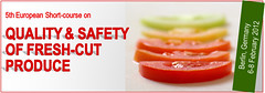 The 5th European Short-course on QUALITY & SAFETY OF FRESH-CUT PRODUCTS will be held in Berlin from 6 to 8 of February 2012, in concomitance with Fruit Logistica/Freshconex. (gicol) Tags: berlin fruit salad expo feria vegetable course frutta fiera verdura freshcut ortaggi insalate fruitlogistica ivgamma freshconex cuartagama