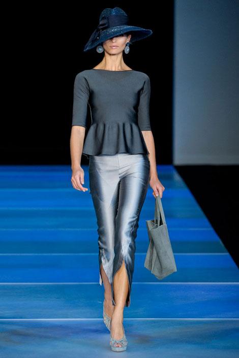 Giorgio-Armani, Peplum, fashion trends, spring trends