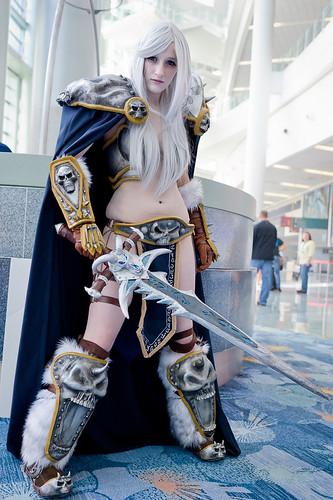 World of Warcraft Arthas Cosplay