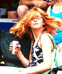 Stella with Pantene Commercial Hair and a Pepsi by V'ron