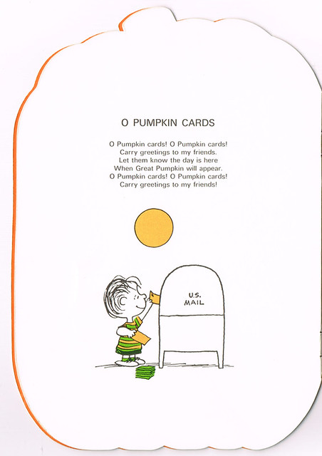 O Pumpkin Cards