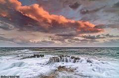 The power of the Sea (color version) (Carlos J. Teruel) Tags: sunset españa sol atardecer mar nikon paisaje murcia nubes cartagena cabodepalos d300 2011 tokina1116 xaviersam singhraynd3revgrad