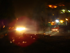 car vs cracker (Adrakk) Tags: india festival fireworks cracker diwali firecracker ptard inde feudartifice pataka dipavali