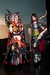 Blizzcon 2011 - Paladin & Demon Hunter (Mr. Muggles) Tags: game wow costume video cosplay worldofwarcraft gaming entertainment fantasy convention blizzcon blizzard regalia immolation 2011 blizzconcosplay