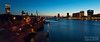 Rotterdam skyline / Blue hour / Willemsbrug (zzapback) Tags: city blue urban holland robert netherlands dutch night de rotterdam europa europe long exposure blauw fotografie nederland le hour avond stad euromast willemsbrug erasmusbrug voogd boompjes uur rotjeknor vormgeving maaskade grafische bergselaan liskwartier maastoren zzapback iloverotterdam zzapbacknl robdevoogd stayawakeenjoyyourday