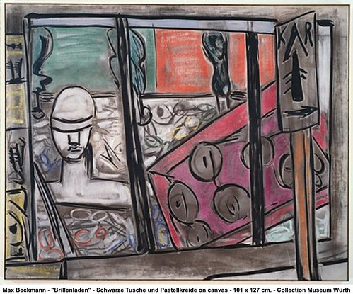 Max Beckmann - 'Brillenladen' by artimageslibrary