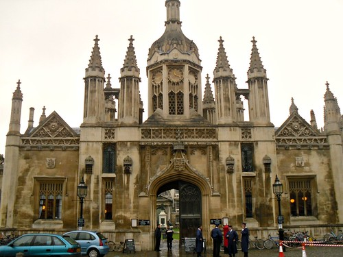 Entrance to King's College, Cambridge
