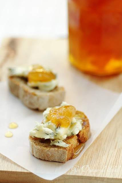 Pears and vincotto jam, perfect with gorgonzola cheese