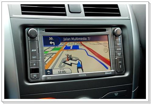 Toyota Altis - GPS