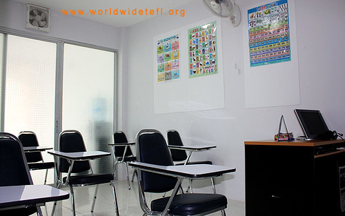 WorldWide TEFL Pattaya Classroom
