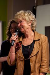 Rola Hulsbergen presenteert Leerlingen voor Leerlingen (Kennisland) Tags: utrecht kl impuls sbo onderwijs 2011 iio innovatie kennisland caop innovatieimpuls halbezijlstra