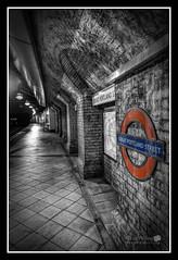 Great Portland Street Underground (Explored) (LeePellingPhotography.co.uk) Tags: street colour london station underground portland great tube selective