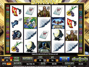 Batman slot game online review