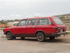 Isuzu Florian S-II Wagon Diesel (Skitmeister) Tags: auto classic car vintage wagon break estate malta voiture oldtimer combi kombi youngtimer pkw 2011 carspot skitmeister