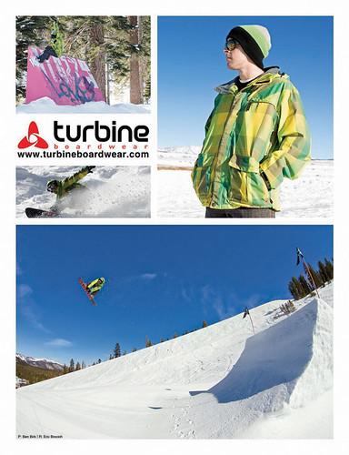 Turbine Boardwear Ad - Eric Brovich