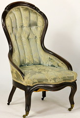 106. Victorian Parlor Chair