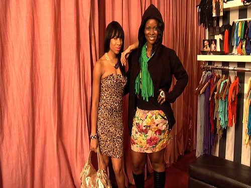 Abiola Abrams and Lil Mama Styled by Each Other