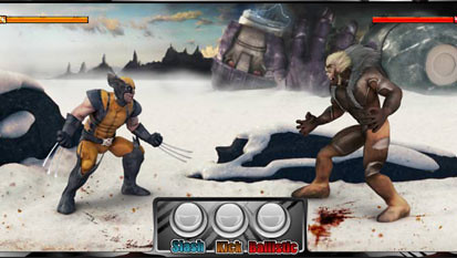 Wolverine bonus game