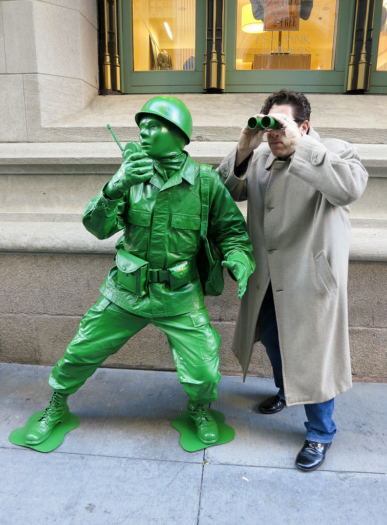 Plastic Green Army Man