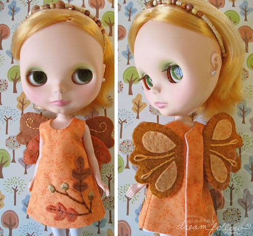 oak faery dress