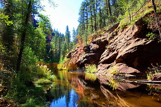 West Fork of Oak Creek - Oak Creek Canyon - Sedona