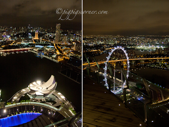 Singapore view from MBS