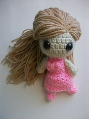 Sweet lolita doll (Mooy) Tags: pink cute fashion japan doll handmade crochet inspired plush lolita kawaii amigurumi mooeyandfriends