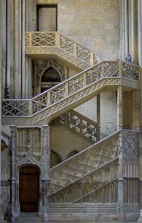 Staircase to the Library