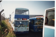 G&G Leamington Spa (Jampot2) Tags: city blue bristol gg y transport lincoln type leamington re alexander spa pennine willowbrook leyland merseyside pte atlantean merseybus