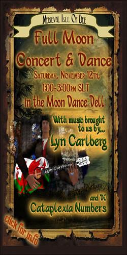November 12th Concert Poster