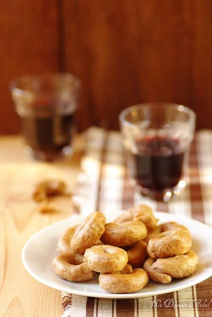 Tarallucci au vin rouge