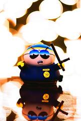 Respect My Authoritah! (RyanManuel) Tags: toy nikon bokeh cartoon police southpark cartman officer 8514 8514g
