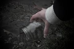 """Now and Always"" 3 (27/30) (FarronArt&Photo) Tags: woman man art water pond couple dream surreal masonjar blond jar series metaphor davidgray lifeinslowmotion"